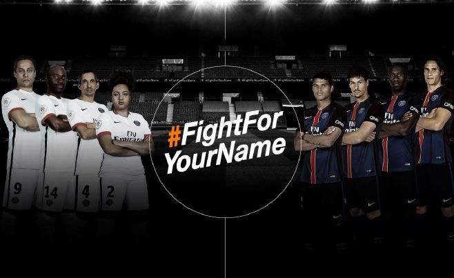 Orange et le PSG lancent la campagne « Fight For Your Name ».