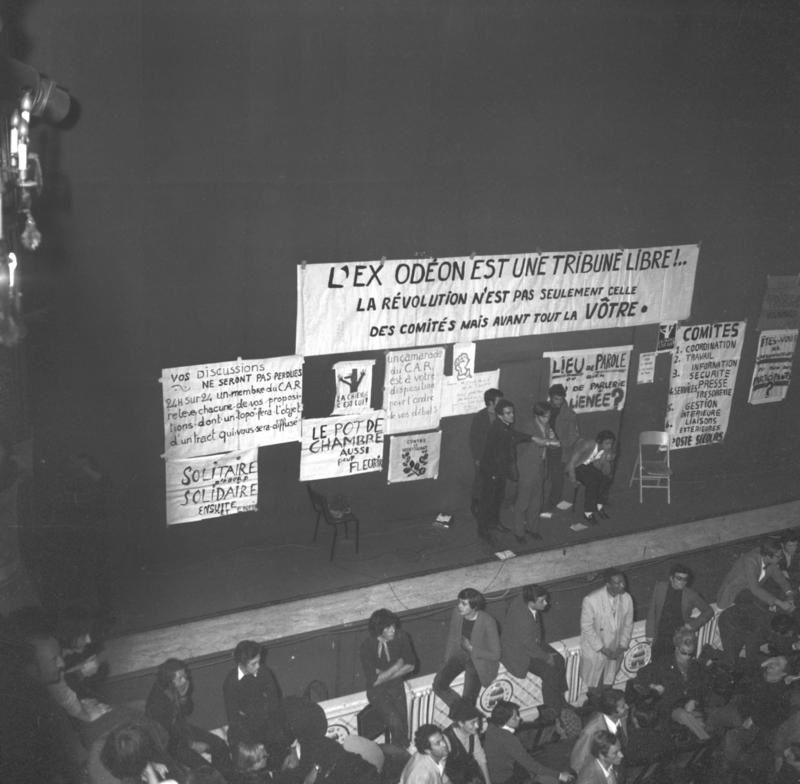 1968 - 1981, les artistes et la politique : document sur France 5.