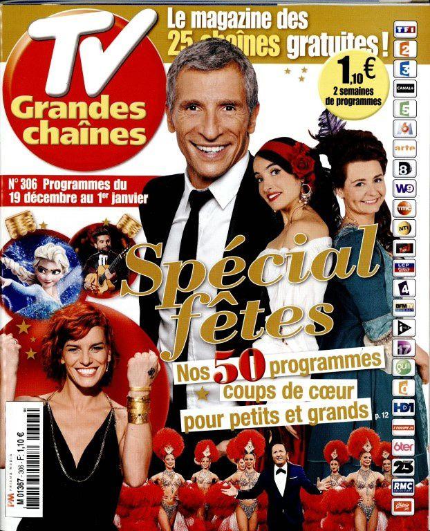 La Une des hebdos TV ce lundi : Camille Cerf, Dujardin, Etchebest...