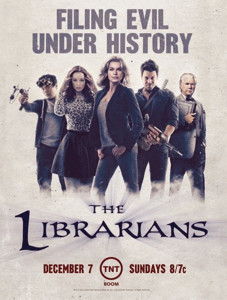 Renouvellement des séries The Librarians et Major Crimes.