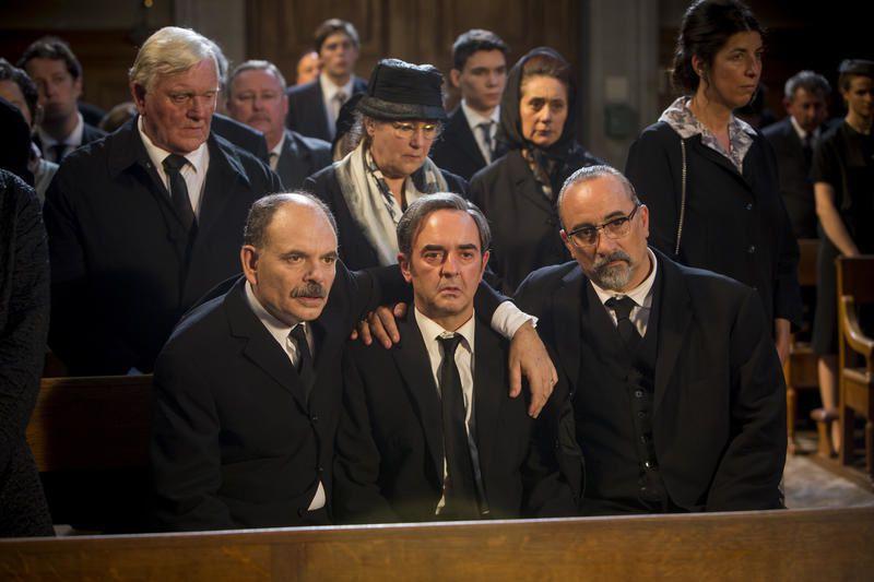 Beau succès pour le téléfilm La mort d'Auguste, sur France 3.
