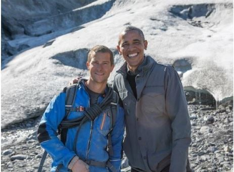 USA : Running wild with Bear Grylls, avec Barack Obama, peu suivi.