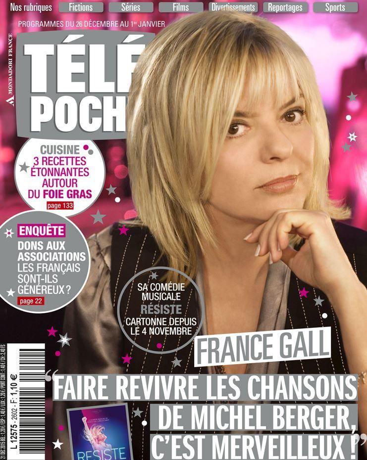La Une de la presse hebdo TV ce lundi : Marianne James, Lepers, Aliagas...