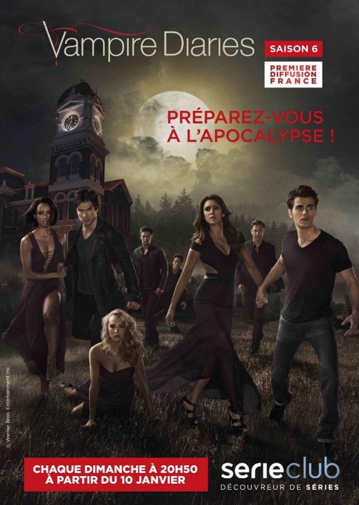 La saison 6 inédite de Vampire Diaries dès le 10 janvier sur Série Club.