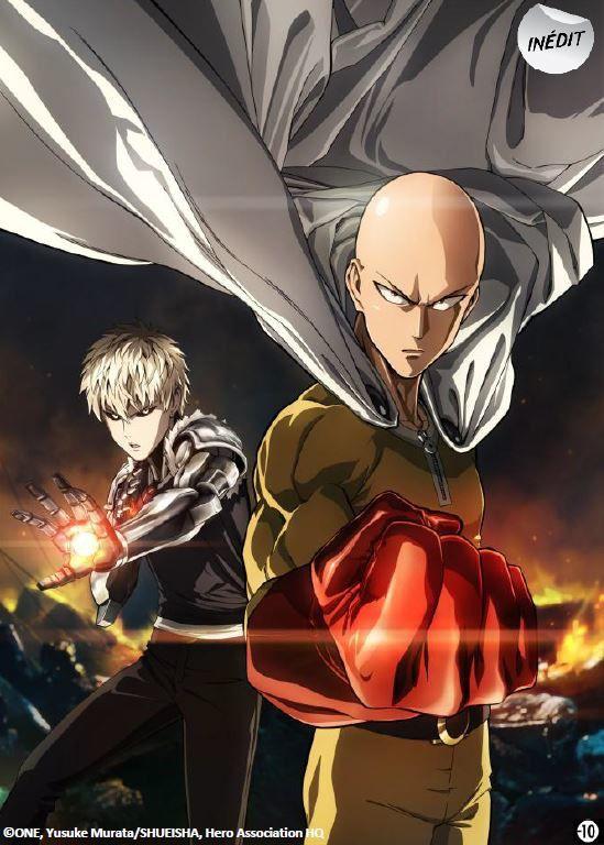 La série animée One Punch Man dès le 4 janvier sur J-One (VOST).