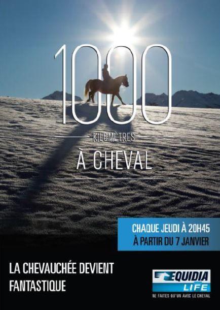 1000km à cheval, nouvelle émission avec Julie Raynaud.