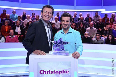 Les 12 coups de midi : déjà plus de 100.000 euros de gains pour Christophe.