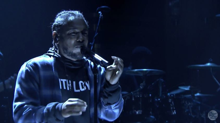 L'excellente performante de Kendrick Lamar dans le talk de Jimmy Fallon (vidéo).