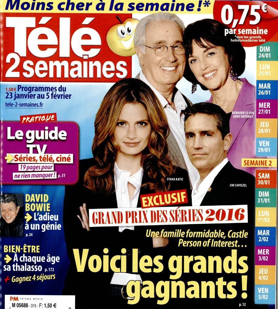 La Une des hebdos TV ce lundi : Zazie, Xavier Deluc, NCIS...