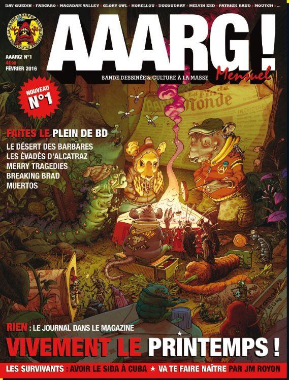 La revue AAARG ! arrive en points presse.