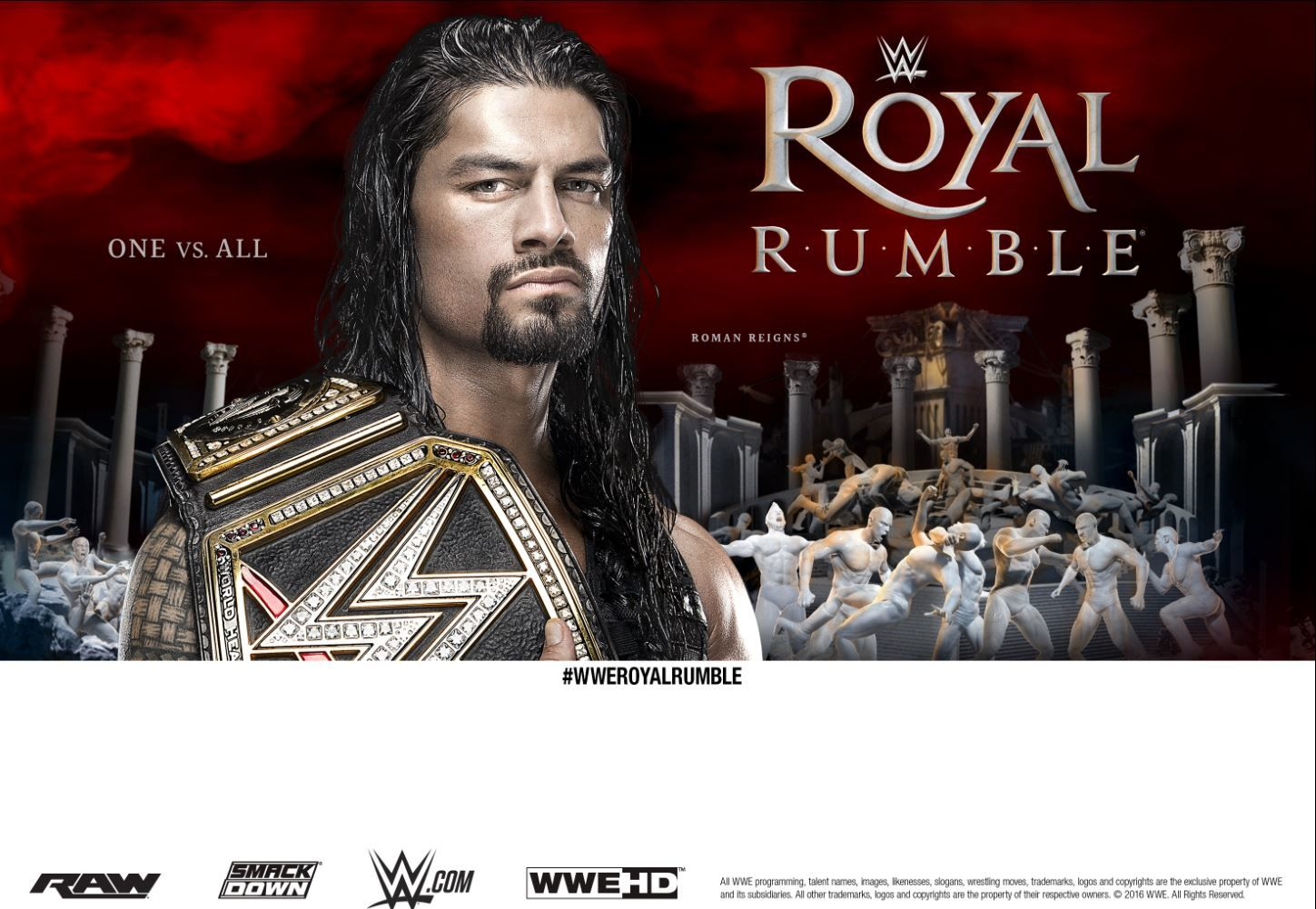 Pay-per-view de la WWE : le Royal Rumble en direct cette nuit.