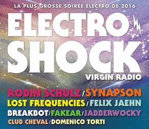 Soirée ElectroShock depuis Marseille jeudi en exclusivité sur Virgin Radio TV.
