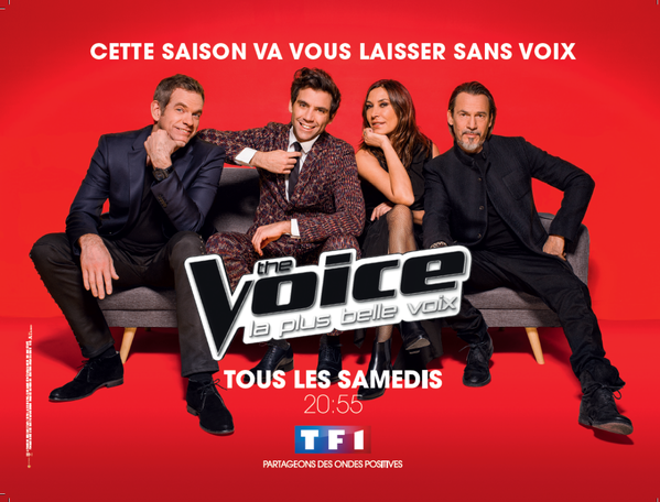 L'affiche de The Voice saison 5.