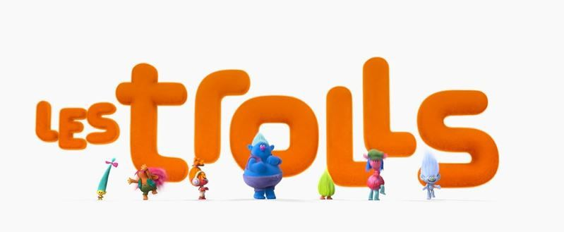 Teaser du film d'animation Les Trolls (Dreamworks).