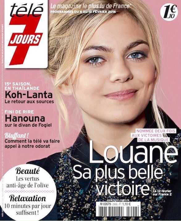 La Une des hebdos TV ce lundi : Louane, Jenifer, The Voice...