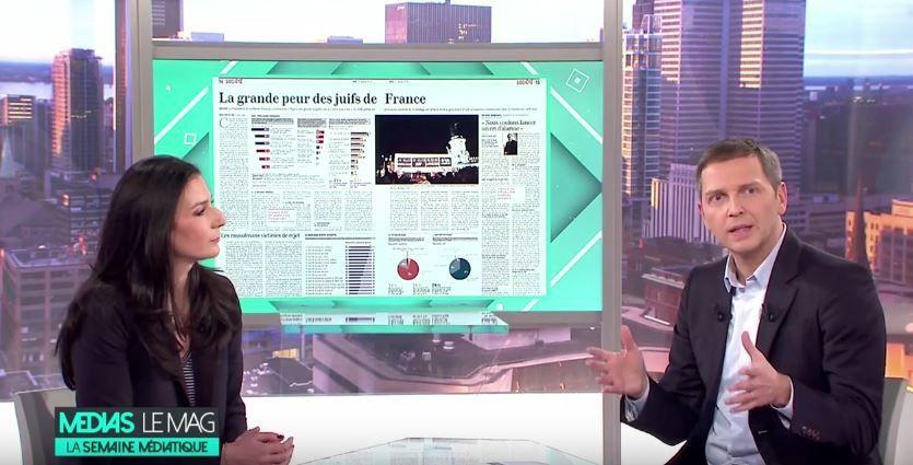 Marie Drucker explique pourquoi le 20H de France 2 ne reprend pas les sondages de la presse papier.