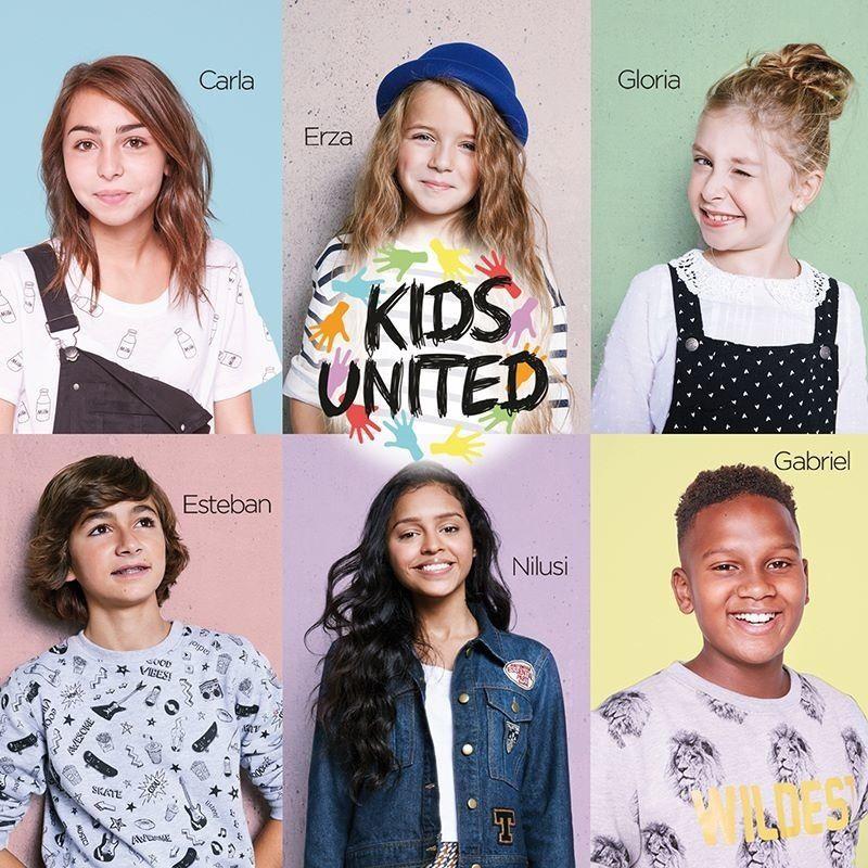 Kids United de nouveau en tête des ventes d'albums.