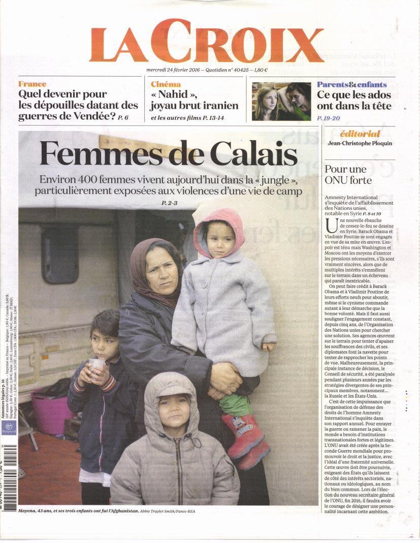 La Une de la presse quotidienne nationale ce mercredi 24 février.