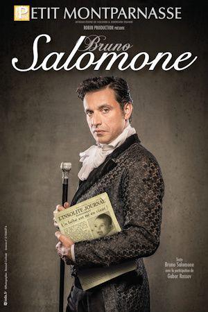 Bruno Salomone sur scène au Petit Montparnasse à la rentrée.