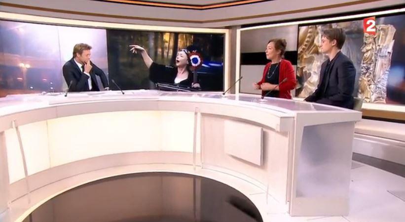 Catherine Frot et Rod Paradot interrogés par Delahousse au 20H (Vidéo).