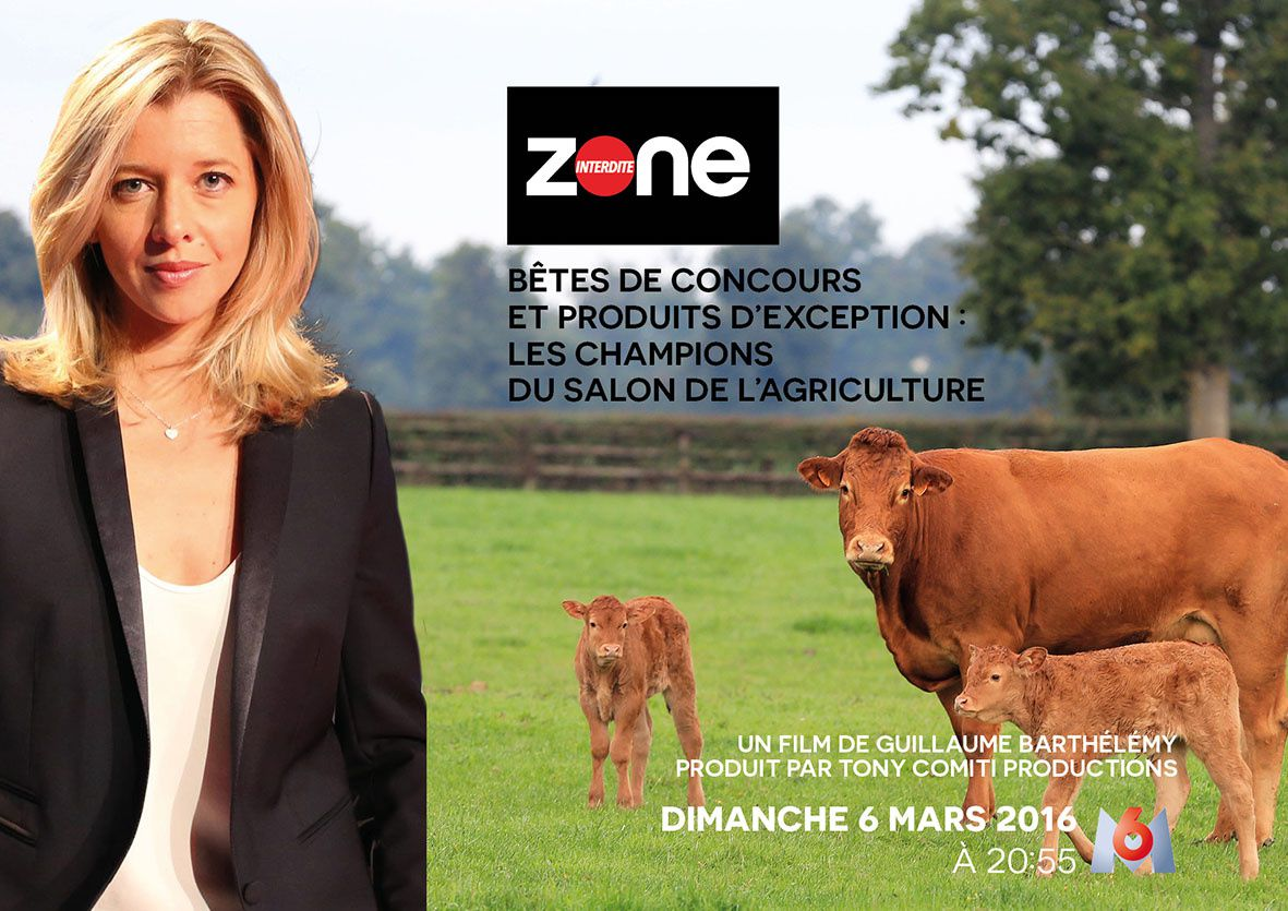 Zone interdite spécial salon de l'agriculture ce dimanche sur M6.