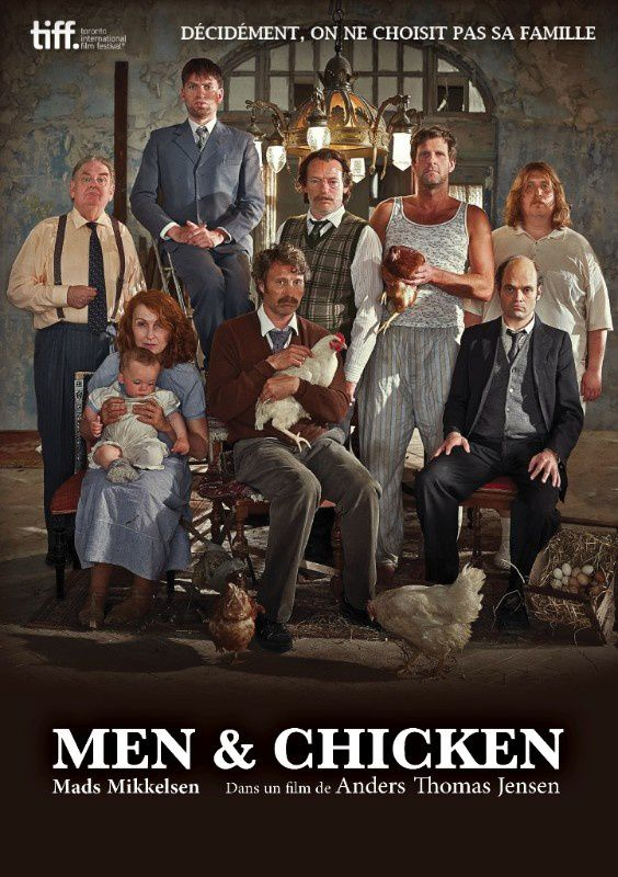 Teaser du film Men and Chicken, de Anders Thomas Jensen.