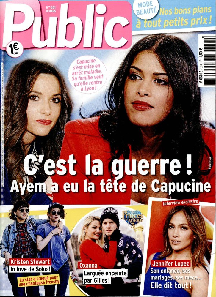 La Une de la presse people : Ingrid Chauvin, Ayem, Capucine, Hanouna.