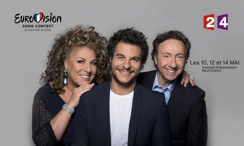 La version Eurovision de J'ai cherché, par Amir (vidéo).