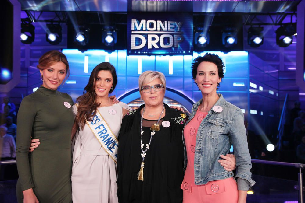 Trois Miss France candidates de Money Drop ce lundi.