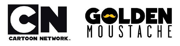 Golden Moustache double les séries Cartoon Network.
