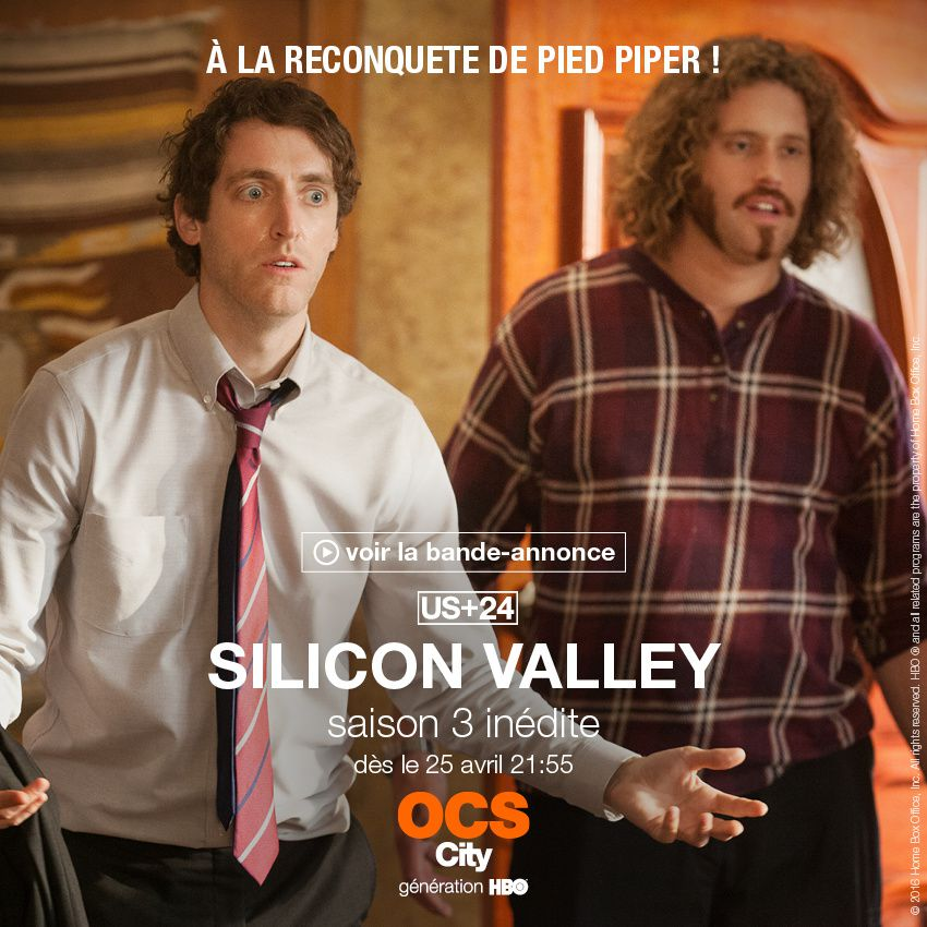 Silicon Valley saison 3 dès le 25 avril en US+24 sur OCS.