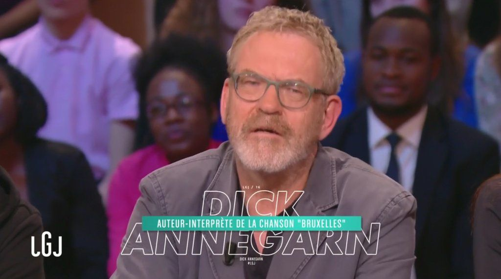 Le live de l'artiste Dick Annegarn dans Le grand journal.