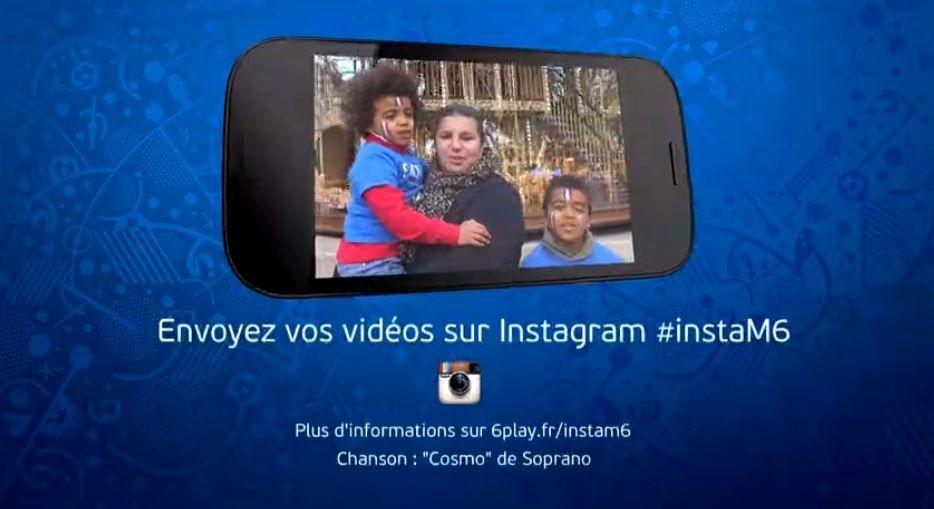 Tous fans des Bleus avec M6 : une campagne participative.