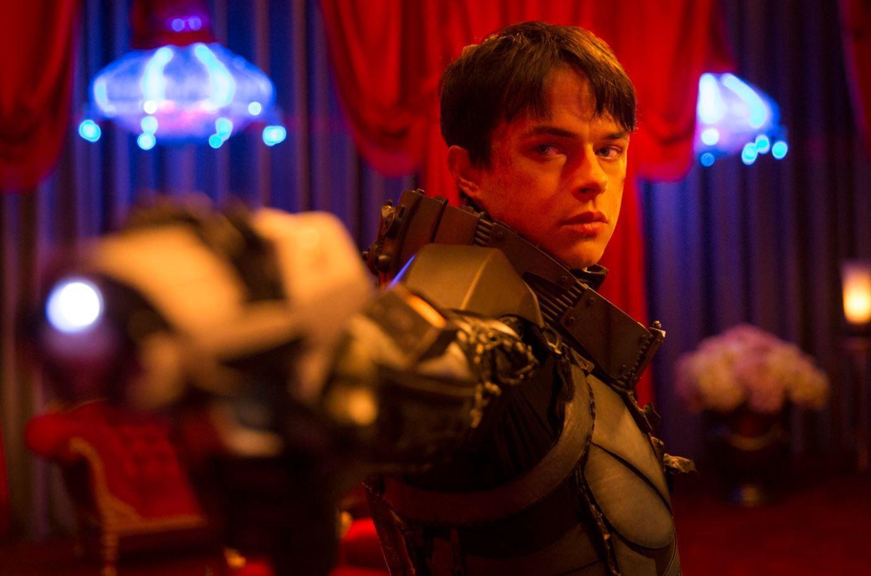 Vidéo du tournage du film &quot&#x3B;Valerian et la cité des 1000 planètes&quot&#x3B; de Luc Besson.