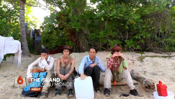 Sans surprise, l'audience de The Island reste faible (replay).