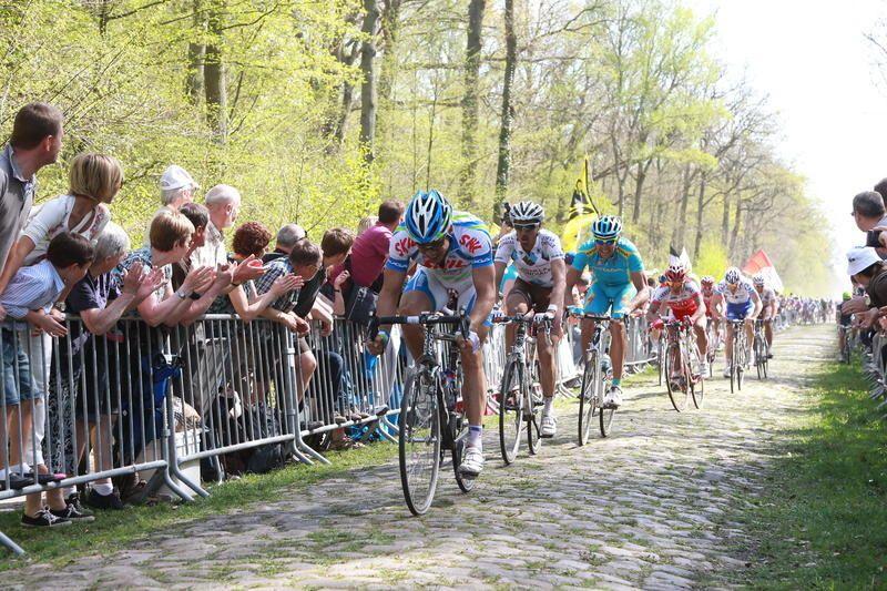 La course Paris - Roubaix diffusée en intégralité ce dimanche.