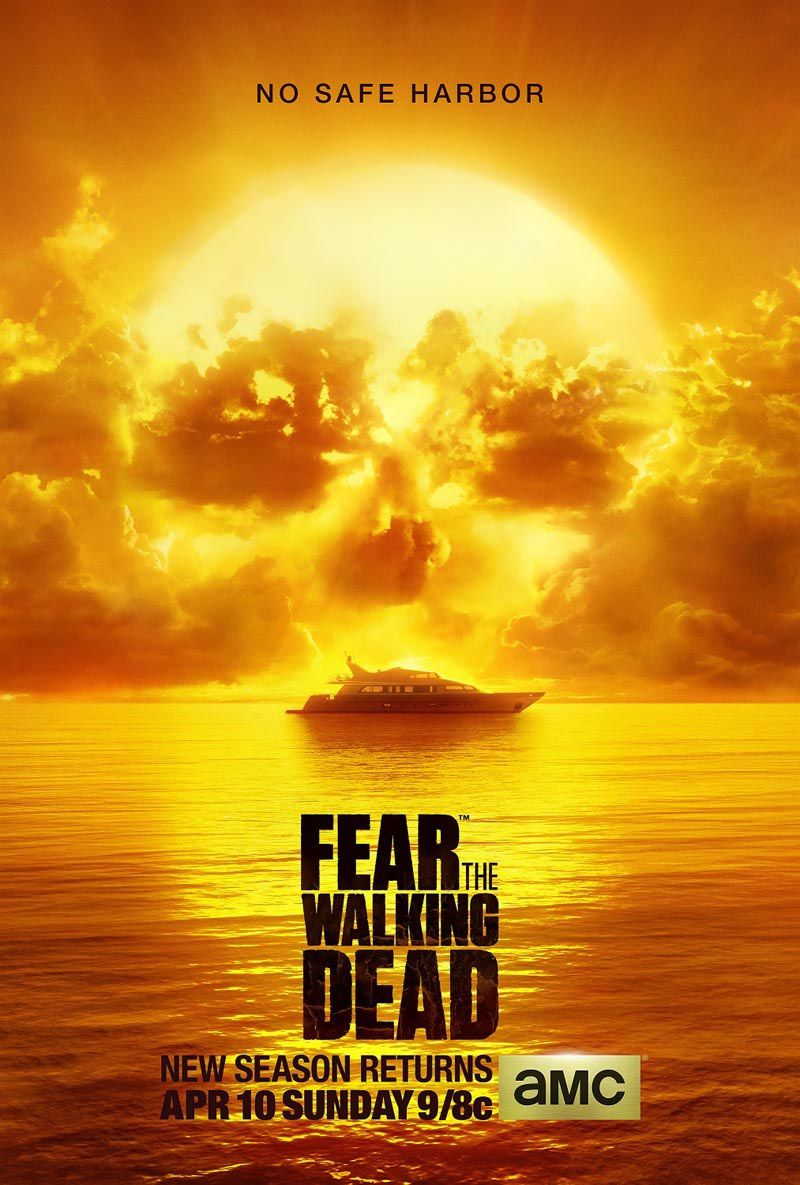Une saison 3 pour Fear the walking dead.