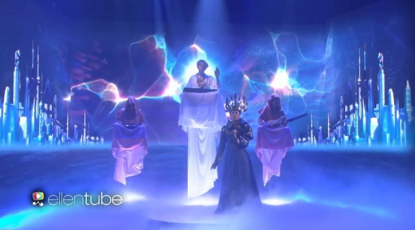 Le live d'Empire of the sun dans le talk d'Ellen DeGeneres (Vidéo).