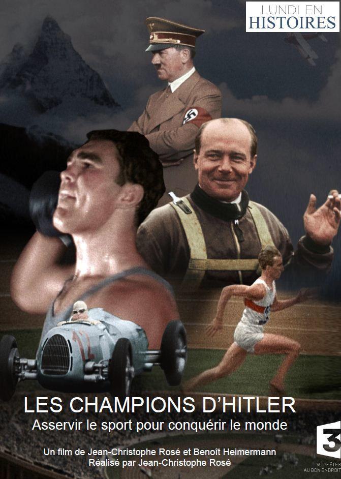 Les champions d'Hitler : document inédit ce lundi sur France 3.