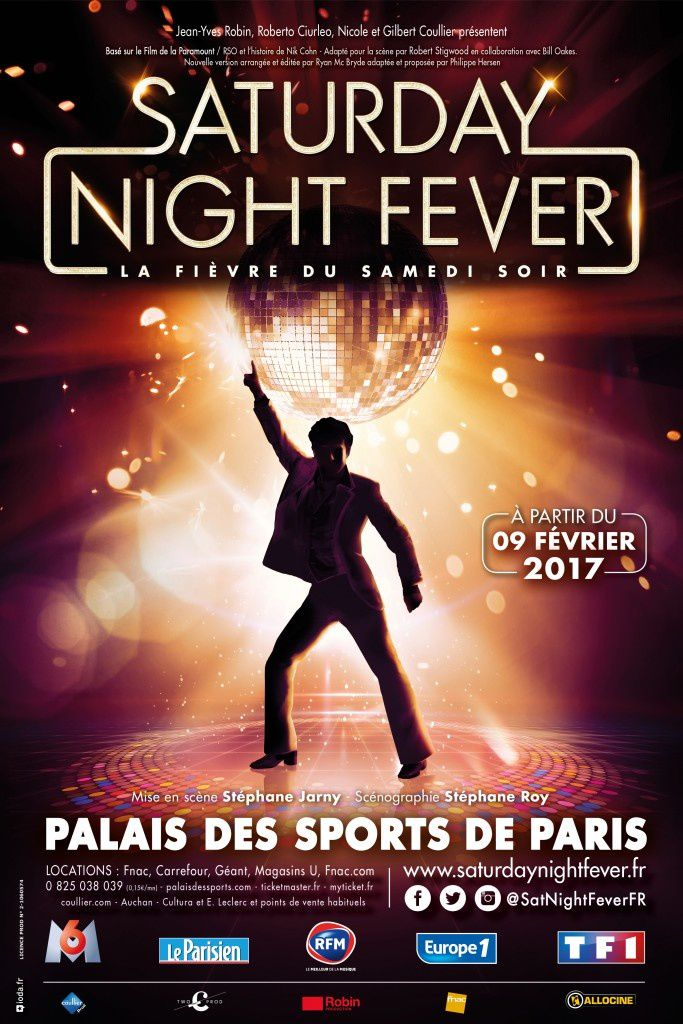 Fauve Hautot vedette de Saturday Night Fever, mais elle continue DALS.