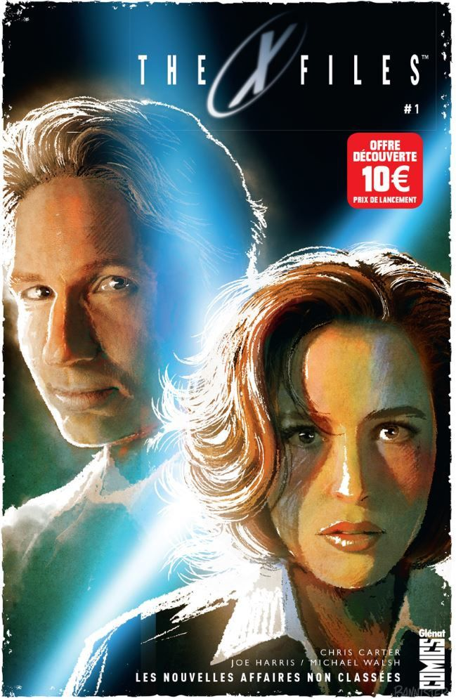 La série culte X-FILES arrive en librairies (Editions Glénat).