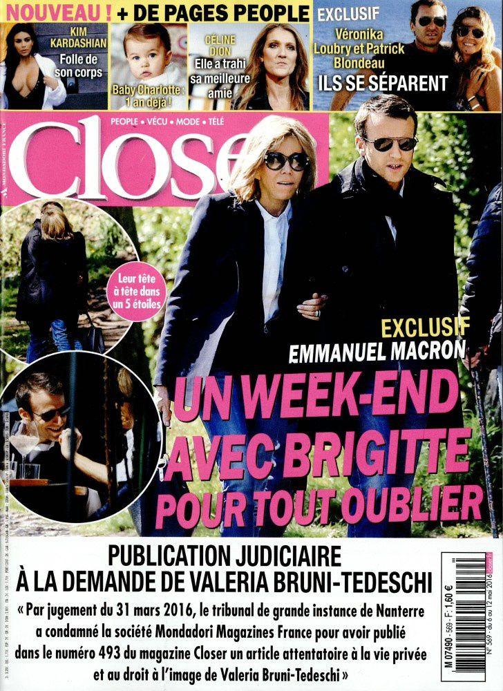 La Une de la presse people ce vendredi : Macron, Bruel, Jenifer, Bruni.