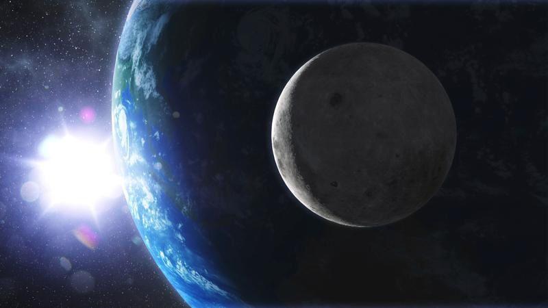 Océans, les derniers mystères de la Lune ce soir dans Thalassa.