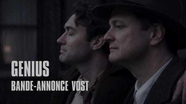 Nouvelle bande-annonce de Genius, avec Jude Law et Colin Firth.