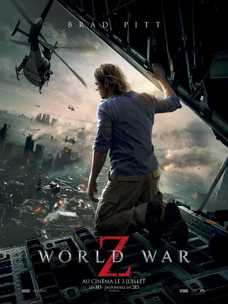 Audiences du dimanche 5 juin : l'inédit World War Z large leader.