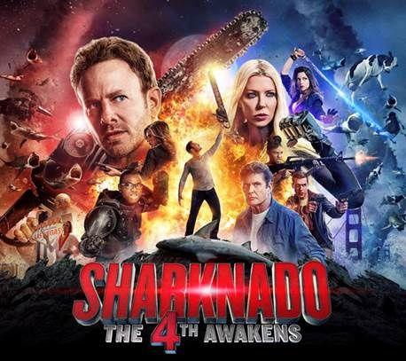 Sharknado : The 4th Awakens le 4 août sur Syfy France.