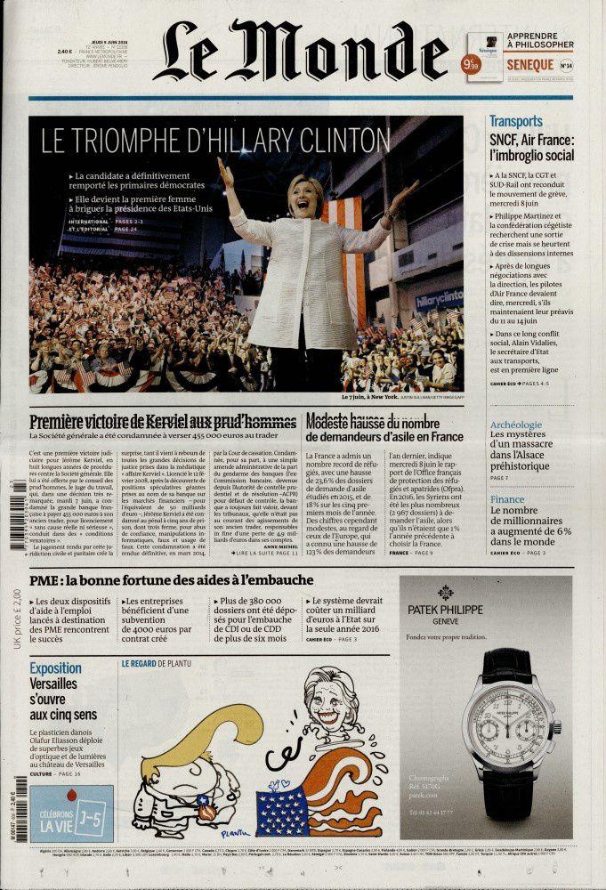 La Une de la presse quotidienne nationale ce jeudi.