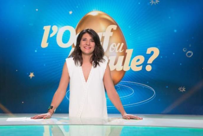 Audience et replay de L'oeuf ou la poule avec Estelle Denis.
