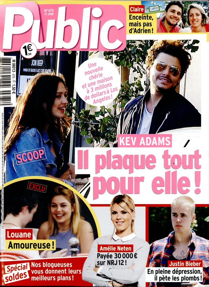 couverture presse people