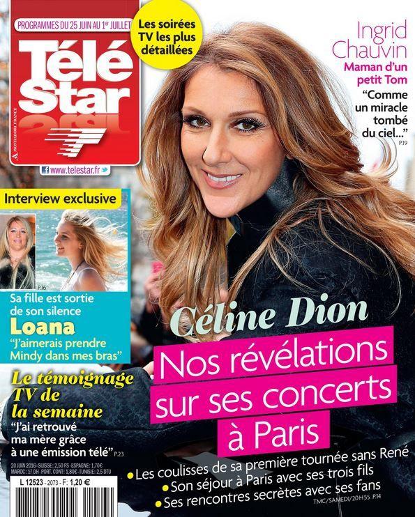 La Une des hebdos TV ce lundi : Laëtitia Milot, Céline Dion, Yann Barthès...
